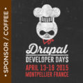 Chipway participe aux Drupal Developer Days Montpellier 2015